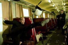 Jason Statham (Frank Martin)~ Planes, trains, and automobiles LOL!-courtesy Transporter 3