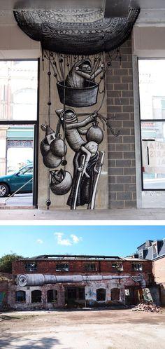 Phlegm #graffiti #urban #streetart