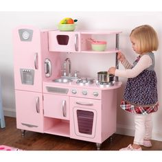 KidKraft Pink Vintage Kitchen I used to have one like this