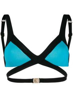 Agent Provocateur Mazzy Bikini Top In Blue Blue Bikini, Bikini Tops, Triangle Top, Agent Provocateur, World Of Fashion, Luxury Branding, Bikinis, Swimwear, Women Wear