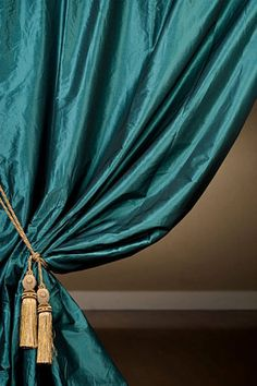 Ideas living room curtains ideas teal window treatments for 2019 Navy Blue Curtains, Gold Curtains, Green Curtains, Hanging Curtains, Panel Curtains, Peacock Curtains, Target Curtains, Bright Curtains, Drapery Panels