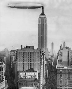 Hey Hey | Amazing things in the world - Empire State Building as Airship Docking Station #thenewworktimes