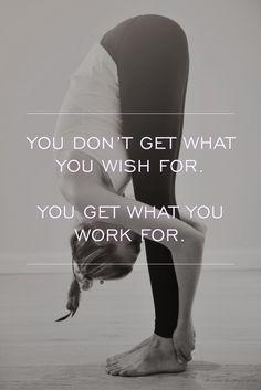 """Você não consegue o que deseja se você não """"rala"""" pra ter . ☝"""