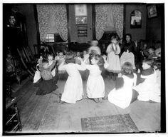 Children in kindergarten, 1897