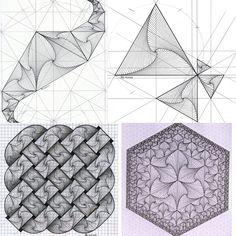#amsterdam #fractal #hexagon #triangle #geometry #symmetry #mathart #regolo54 #celticknot