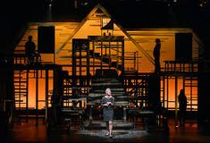 Wilson's set for AOC, discontinuous lines August Osage, Next To Normal, Set Design Theatre, Scenic Design, Scenery, Cabin, House Styles, Home Decor, Opera