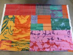 "Marimekko Finland Fujiwo Ishimoto ""Marras"" Unused Fabric Fresh Sateen Cotton | eBay"