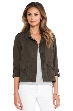 SANTCUARY Girly Troop Jacket in Fatique #REVOLVEclothing