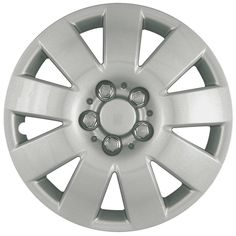 New Aftermarket Custom Hubcaps / Wheel Covers Set of 4 410 Series Silver Hubcaps Unlimited® - WheelCovers.