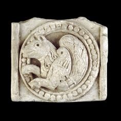 Moulded stucco plaque | Umayyad | 7th-8th century AD | From Chal Tarkhan, Northern Iran