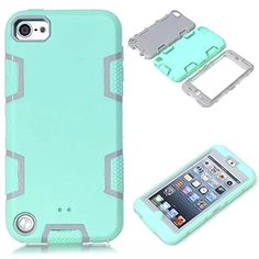 Topforcity® C Rugged Hybrid Rubber Shockproof Protective Case for Apple ipod touch 5 with Stylus Pen (Mint Green & Gray) Topforcity http://www.amazon.ca/dp/B015MW236O/ref=cm_sw_r_pi_dp_A2Skwb1DH1WB8
