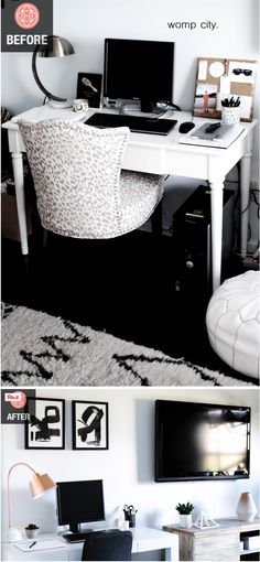 How to take your office from 'blah' to WOW--before and after!