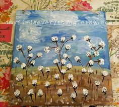 High Cotton Painting
