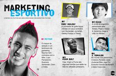 Conheça os atletas que mais bombam no marketing.