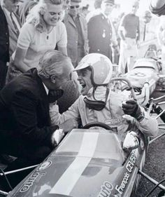 Francois Cevert F3 victory celebration with parents, Tecno 68 Ford , 1968