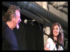 Robert Plant and Patty Griffin...funny story by Robert before song. (London, May 2013)