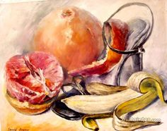 Leonid Afremov Fruits oil painting reproductions for sale