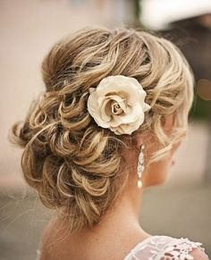 This hairstyle is the definition of a girly-girl look!