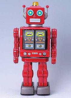 Repro Tin Robot 'STAR STRIDER ROBOT' Made In Japan