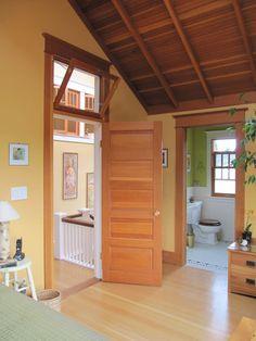 Updated Craftsman Bungalow in Ballard | hookedonhouses.net - I LOVE THE TRANSOM WINDOW.