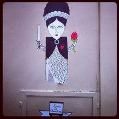 Street Art - rue d'Orsel Paris 18