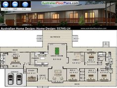 557m2 5 Bedrooms Acreage Home Plan 5 bed by AustralianHousePlans