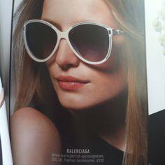 Balenciaga Sunglasses Spring 2012
