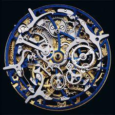 The inner workings of a watch - Guido Mocafico - looks like a beautiful steampunk sculpture Armadura Steampunk, Bijou Geek, Dirigible Steampunk, Arte Steampunk, Steampunk Makeup, Steampunk Bedroom, Steampunk Drawing, Steampunk Furniture, Steampunk Men