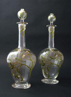 Daum decanters