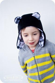 Tutorial: The 'Eared' Earflap Hat - SEWTORIAL