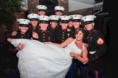Marine Corps Wedding, Oorah!