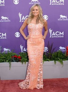 Jewel in Georges Chakra Couture at the 2013 ACM Awards.