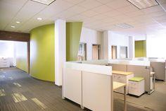 Confidential Client Firm Fusion #largeoffice #commercialspaces #commercialinteriors #design #flooring