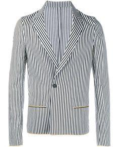 HAIDER ACKERMANN Striped Jacket. #haiderackermann #cloth #