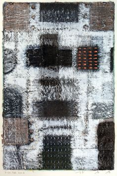 Takahiko Hayashi: D-20. Feb.2002, mixed media/paper making,painting, collage...