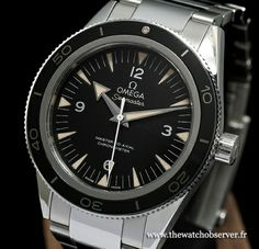 Test Omega Seamaster 300 Master Co-Axial | The Watch Observer