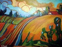 Farmland #1   Acrylic   Joseph Chubb