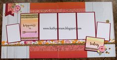 Close To My Heart Happy Times paper pack and stamp set for Nat'l Scrapbook Month, Gold Foil Watercolor PML Cards.