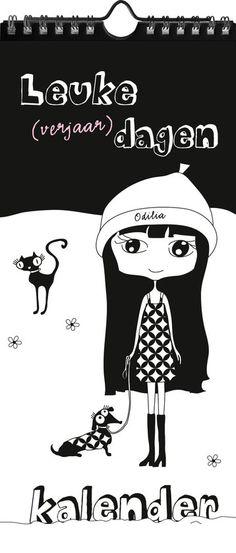 bol.com | Odilia's leuke (verjaar)dagen kalender, Judith van Gemert | 9789082372007...