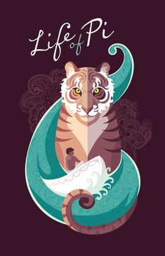 Life of Pi by Julia Williams, via Behance