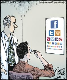Bizarro cartoon (March 15, 2013)