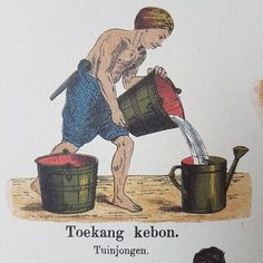 Toekang kebon Indonesian Art, Old Commercials, Dutch East Indies, Dutch Colonial, Carousels, My Roots, Vintage Sheets, Decoupage Paper, Art Forms