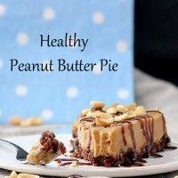 healthy peanut butter pie