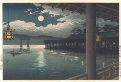 woodblockprints:Takeji Asano
