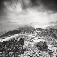 landscapes by Lukas Furlan, via Behance