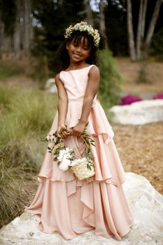 Loving these dresses for the spring season! For more of our #flowergirl dress picks, get inspired here: http://bit.ly/1DFwg20