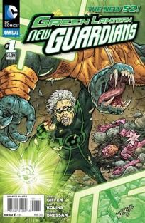 Green Lantern - New Guardians Annual #1 Keith Giffen Scott Kolins ---> shipping is $0.01!!!