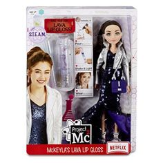 Project Experiments with Doll- McKeyla's Lava Lip Gloss Girl Toys Age 5, Toys For Girls, Project Mc2 Toys, Experiment, Project Mc Square, Girls Rolling Backpack, Dc Superhero Girls Dolls, Disney Baby Dolls, My Little Pony Dolls