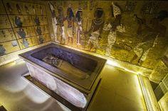 Tumba de Tutankhamón, Luxor, Egipto.