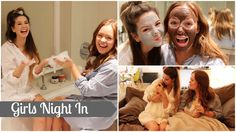 "Girls Night In With Tanya Burr | Zoella. oh my gosh! i want to do this so bad! girls, get the parents out, and let's go! ;""D"